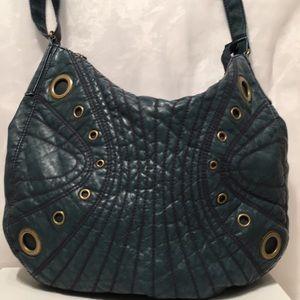 ❤️ Route 66 Blue Shoulder Bag